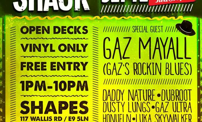 Rompa's Red Stripe Rub-A-Dub Club W/ Gaz Mayall + More @ Shapes, London, UK (20th Sept)