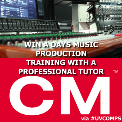Win A Days Music Production Training With A Professional Tutor @ CM Sounds (Whitechapel) via #UVComps