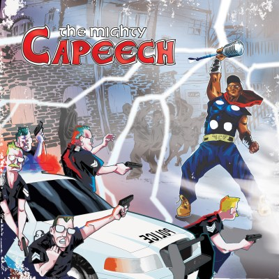 The Mighty Capeech - Distance In Time (Music Video) & EP (Audio/iTunes)