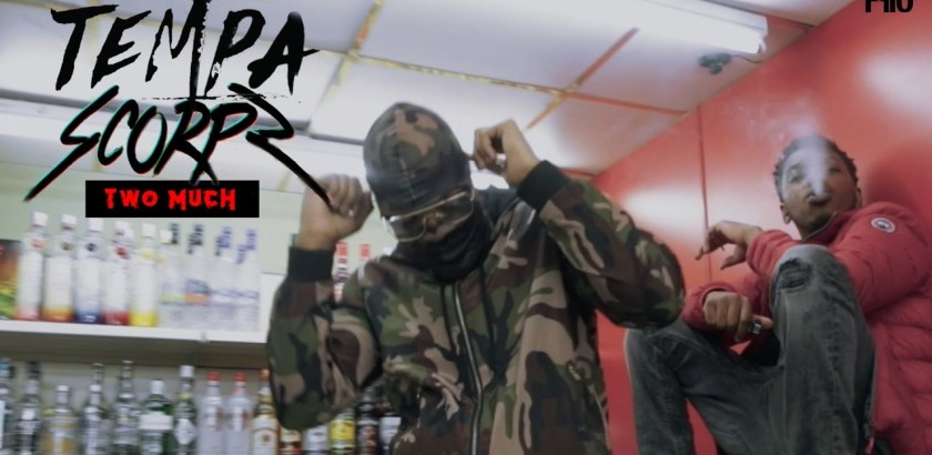 Tempa ft. Scorpz - Two Much (Music Video/P110/iTunes)