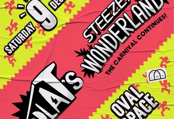 Toddla T's Steezey Wonderland @ Oval Space, London, UK (09th Dec)