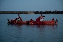 Draping the Canoe