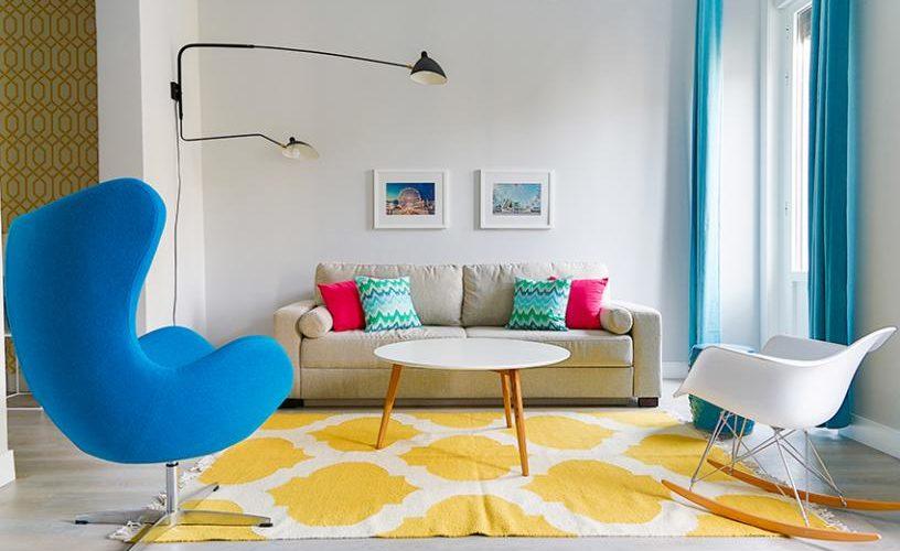 Salon en Apartamento un Dormitorio 3 UrbanVida La Latina4