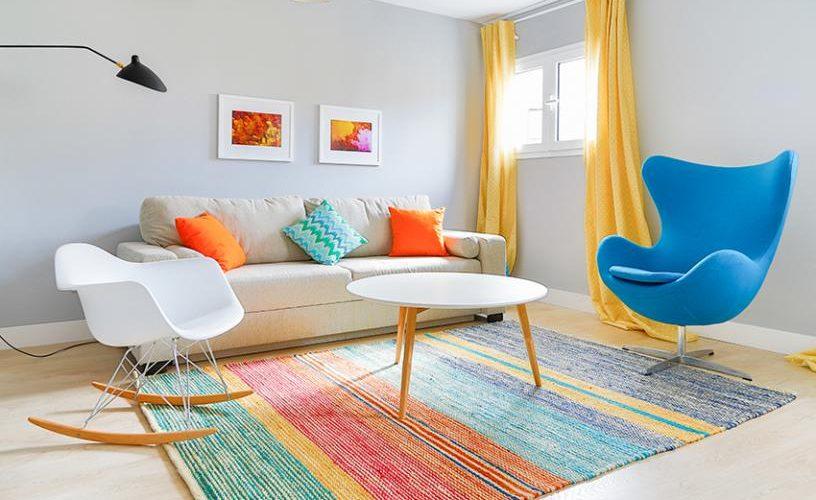 Salon en Apartamento un Dormitorio 4 UrbanVida La Latina 2