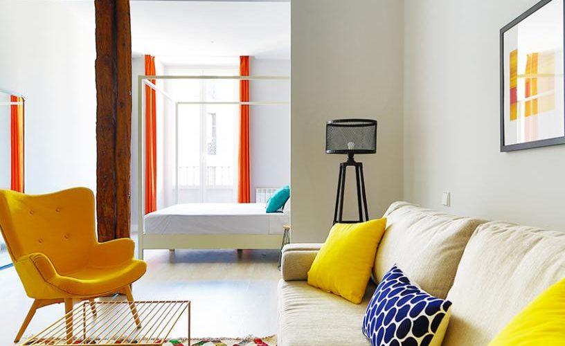 Salon en Estudio Loft 3.1 UrbanVida La Latina3