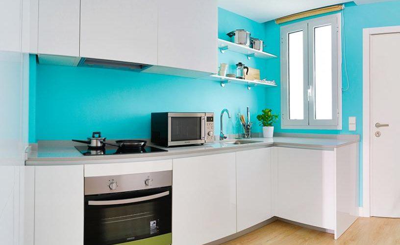 Cocina en Estudio Loft 4.3 @ UrbanVida La Latina