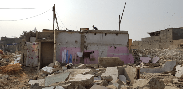 Evictions as Urban Violence: Karachi's Violent Planning Regime