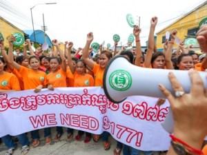 Garment Workers Again Target $177 Minimum Wage