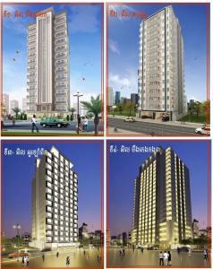 Residence L Cambodia កម្ពស់២១ជាន់កំពុងចូលរួមបង្កើនសំណង់អគារខ្ពស់ថ្មីនៅភ្នំពេញ