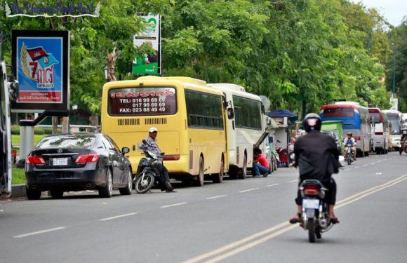 Phnom Penh cops plan crackdown on parking
