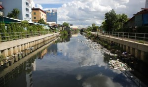 Truckloads of trash removed from canal