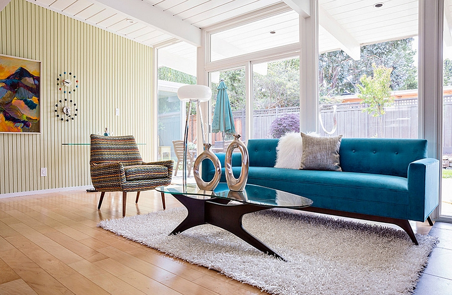 choosing a mid-century modern design color palette for your home