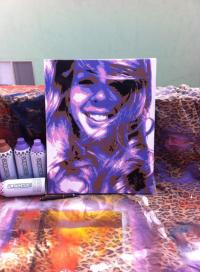 Custom Commission  Spray Paint on Canvas By Me | Ray ...