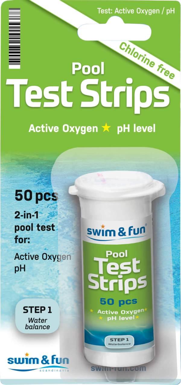Test strips PH/Active Oxygen 50 stk. 1538 urbanwild