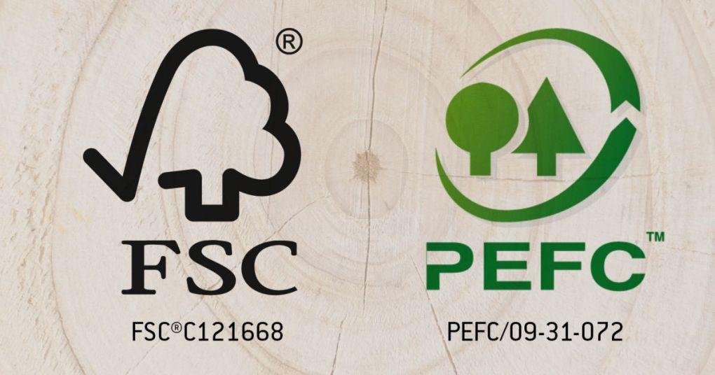 FSC og PEFC certificeret urbanwild