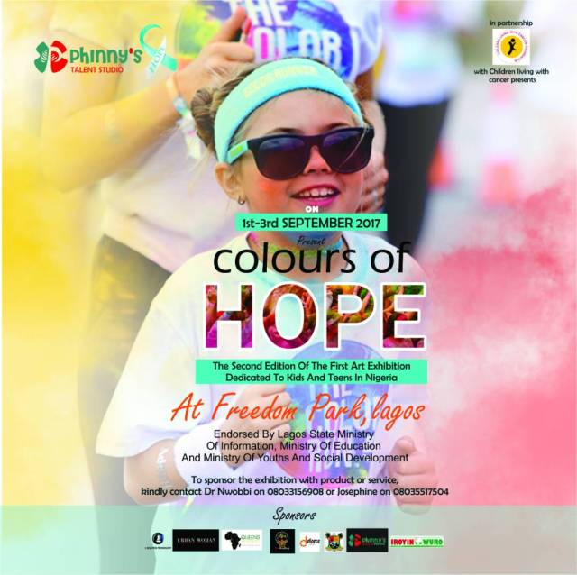 Phinny's talent and Children Living With Cancer Foundation