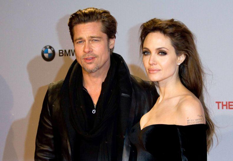 Jolie and Pitt