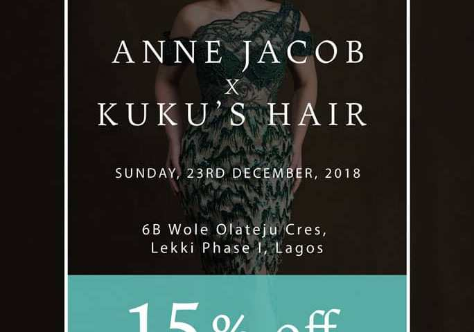 Anne Jacob collaborates with Kuku's Hair