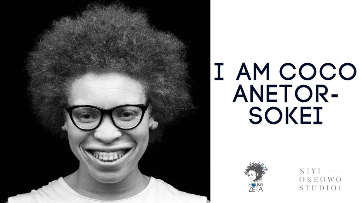 "Watch Coco Anetor-Sokei Share Her Story About Living as an Albino in Nigeria On The ""I AM"" Series"