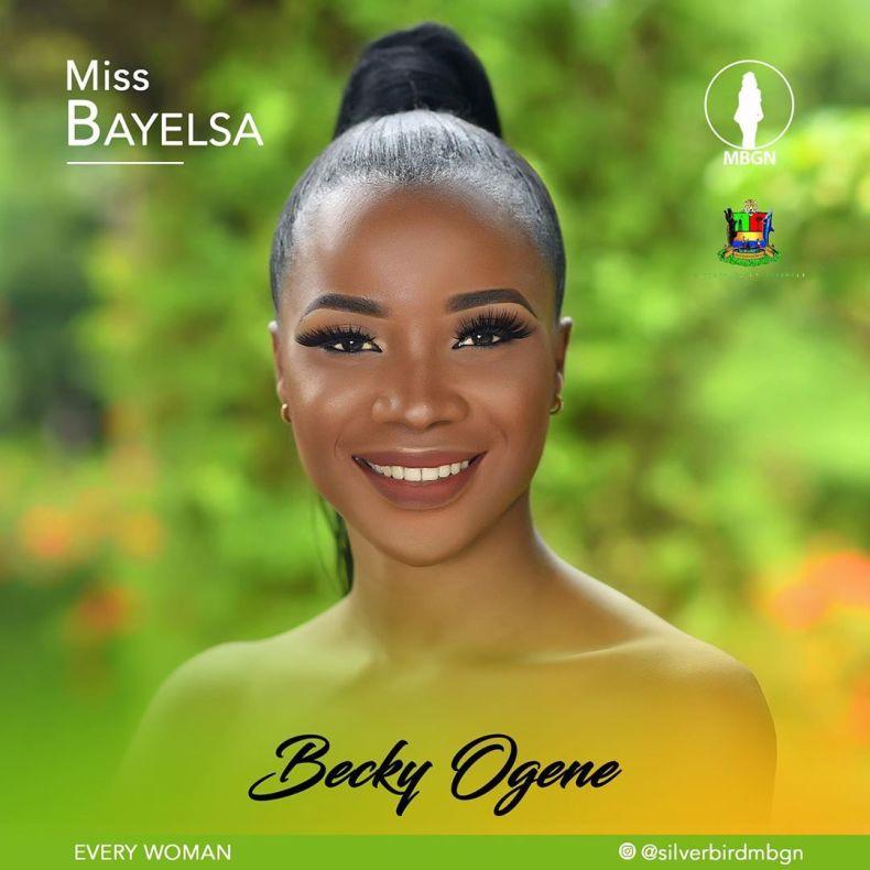 Miss Bayelsa MBGN 2019 Becky Ogene