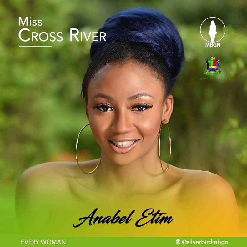 Miss Cross River MBGN 2019 Anabel Etim