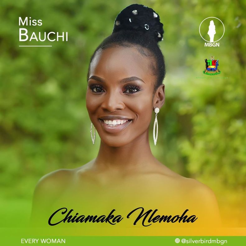 Miss Bauchi MBGN 2019 Chiamaka Nlemoha