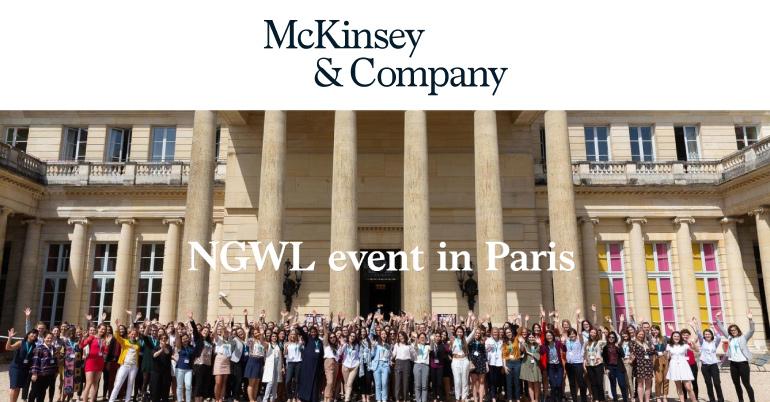 The Next Generation Women Leaders Event 2019 in Paris