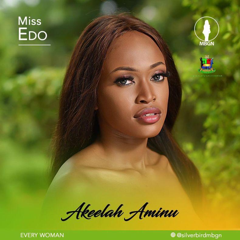 Miss Edo MBGN 2019 Akeelah Aminu