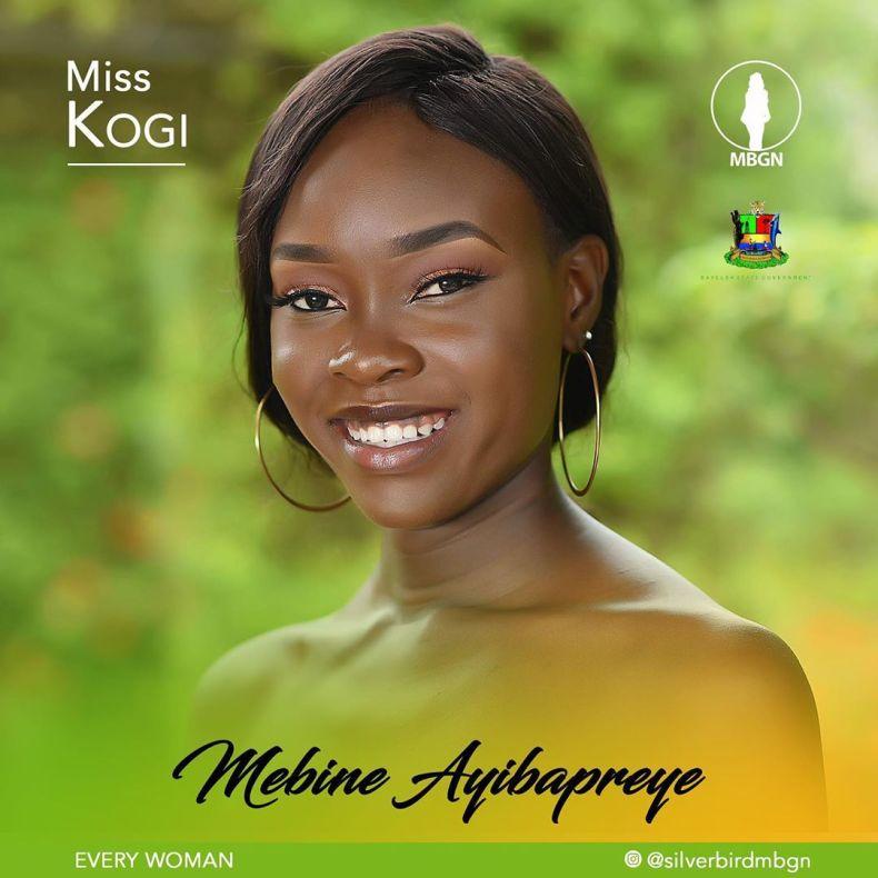 Miss Kogi MBGN 2019 Mebine Ayibapreye