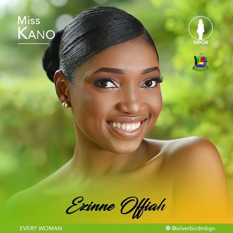 Miss Kano MBGN 2019 Ezinne Offiah