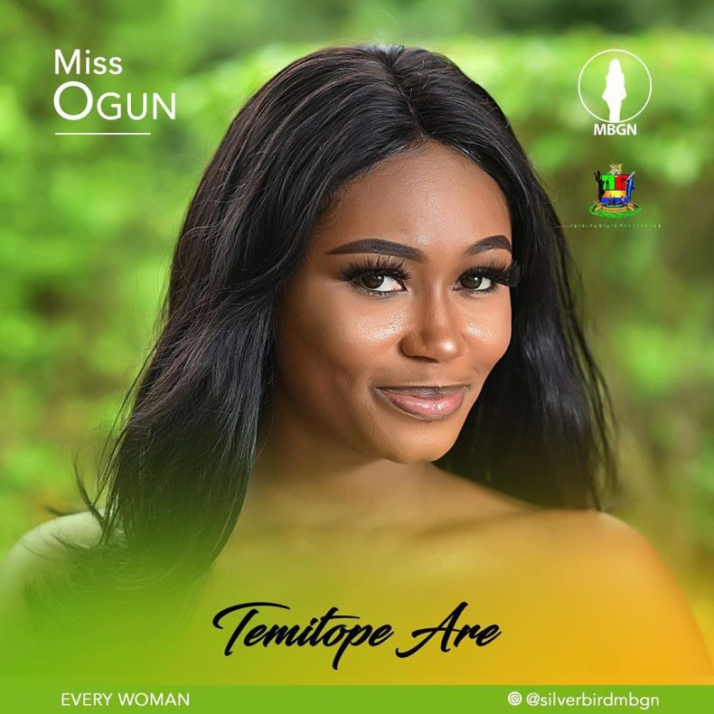 Miss Ogun MBGN 2019 Temitope Are