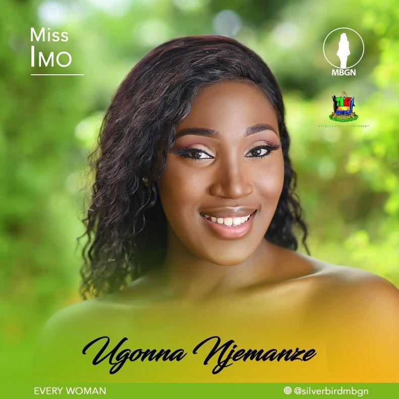 Miss Imo MBGN 2019 Ugonna Njemanze