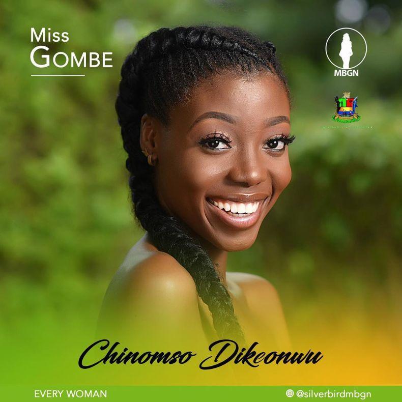 Miss Gombe MBGN 2019 Chinomso Dikeonwu