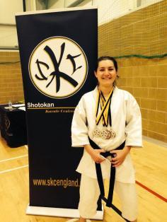 Alexandra Merisoiu Karate Shotokan SKCE National Campionship
