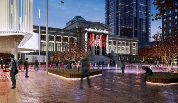 Vancouver Art Plaza Design Revealed Urbanyvr