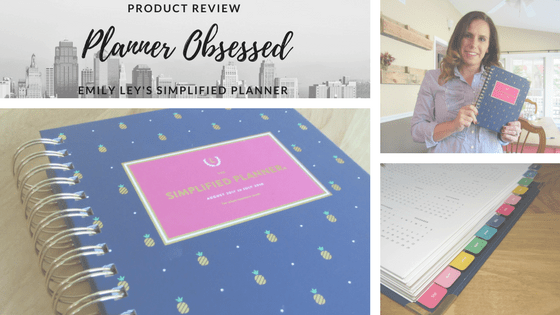 Planner Obsessed: Emily Ley's Simplified Planner {Product Review}