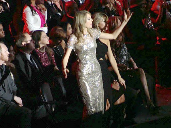 taylor swift grammy dancing kendrick