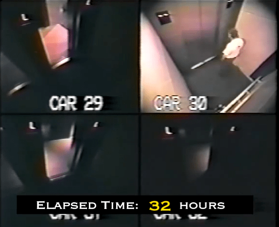 TRAPPED IN AN ELEVATOR FOR 41 HOURS