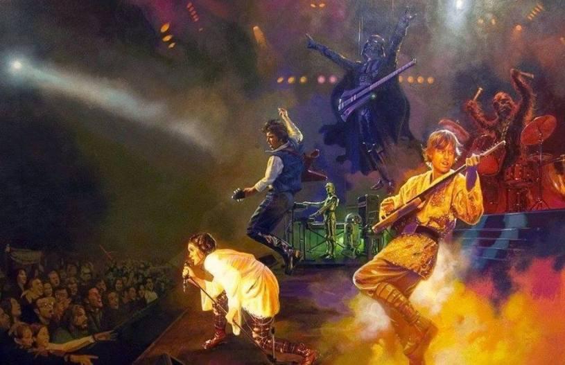 Star Wars rock URBe