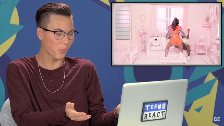 Teens React Anitta Bang URBe
