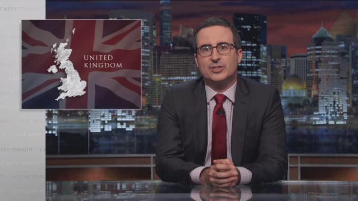 John Oliver Brexit URBe