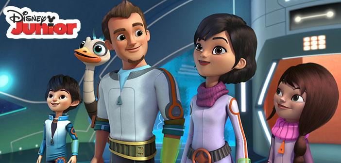 En Mayo Disney Junior presenta «Miles del Mañana»