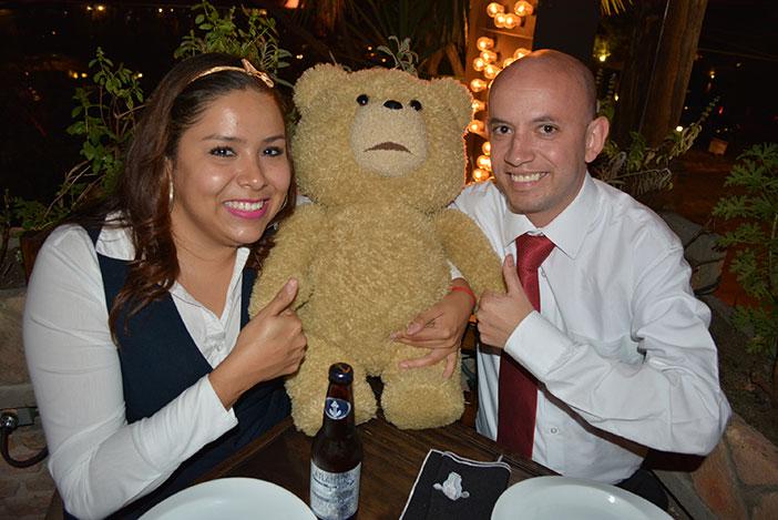 Visita del oso Ted en Guadalajara