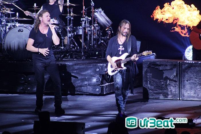 Maná «Cama Incendiada Tour 2015» Auditorio Telmex
