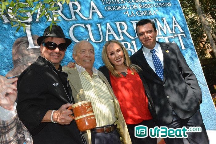 Presentación de Agarra la Cuaresma en Santo Coyote con Mario Cuevas