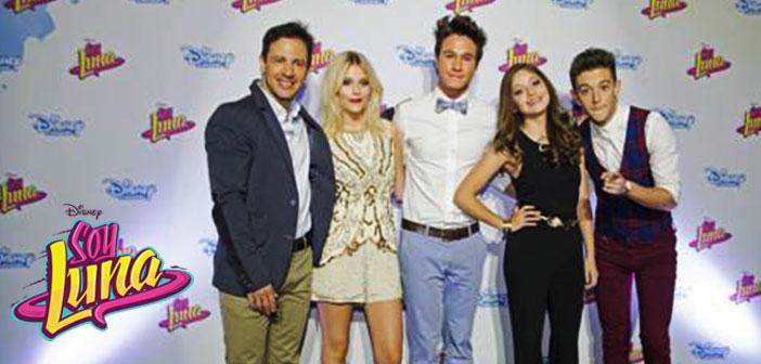 Presentación de «Soy Luna» serie de Disney Channel