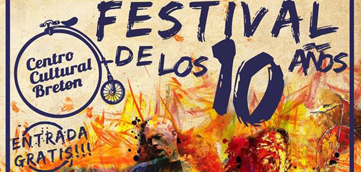 Festival de los 10 años del Centro Cultural Breton