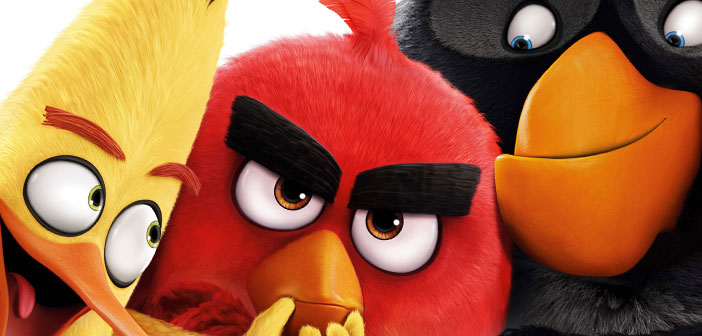 ANGRY BIRDS LA PELÍCULA. No sólo los pájaros están enojados.