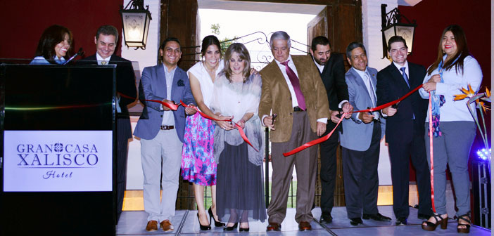 Inauguran Hotel Gran Casa Xalisco