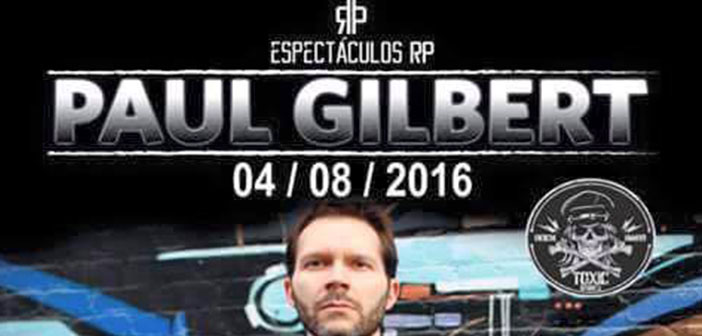 Paul Gilbert en Guadalajara Foro Independencia